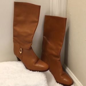 Shoes - Made in Italy knee high boots size 9